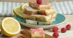 Raspberry Lemonade Cheesecake Bars