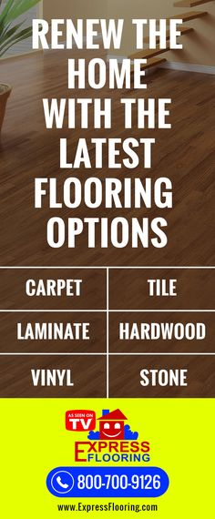 Renew the Home with the Latest Flooring Options | Express Flooring