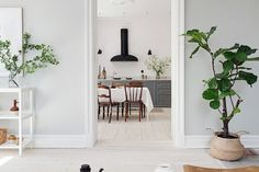 A simply stunning and calm Swedish space