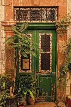 beautiful door in Nicosia, Cyprus.