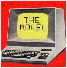 The Model, Kraftwerk – album cover Pet Shop Boys, Lp Cover, Vinyl Cover, Cover Art, Neil Young, Music Album Covers, Music Albums, Lps, Florian Schneider