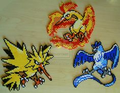 Pokemon sprite bead 5 by Chiki012.deviantart.com on @deviantART