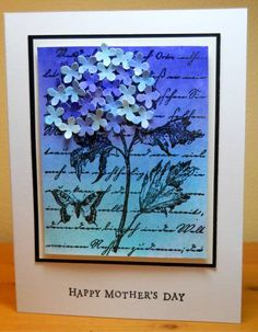 Mother's Day Hydrangea by susanbri - Cards and Paper Crafts at Splitcoaststampers