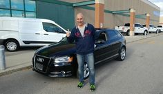 Congratulations to this happy customer with his purchase of a 2013 Audi A3 @autopdirect! . #autopdirect #autoplanetdirect #usedcars #happy #performanceautogroup #Brampton #audi #a3  #canada #ontario #fall2016 #autoplanet