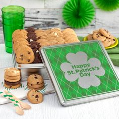 WIN FREE COOKIES!  Leave a comment to the following question: Ever gotten really lucky? Tell us how...  You could #win our #StPatricksDay Tin of treats! #CookieCraze
