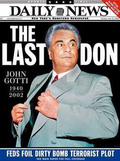 John Gotti. Died. In. Kansas. City. Prision. ;-$