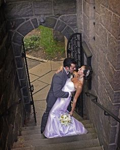 Wedding in Fort Tryon Park, New York City by Lindseysphotography.net