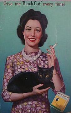 I LOVE this!  I have a little black kitty cat named Sadie. :) She's darling!