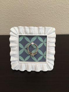 Wedding/Engagement Ring Holder by EskimoKissesDIY on Etsy