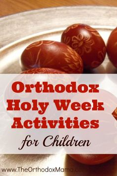 If you are looking for activities that will engage your children and help them to experience and learn more about Holy Week, take a look at this collection of resources and books!