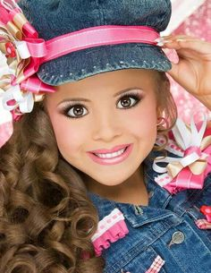 Toddlers and Tiaras kids. i am not saying they are stupid i mean it is stupid what they are doing and that is for all the pins that i put on here like this one. :)