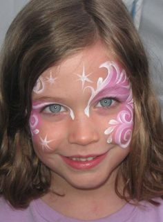 Princess face paint halloween