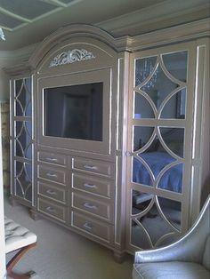 Custom wall units Naples FL. - traditional - bedroom - miami ...