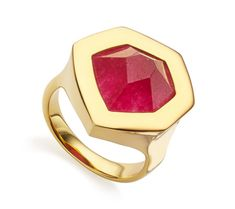 Embracing the beauty of the natural hexagonal structure of the gemstones, the…