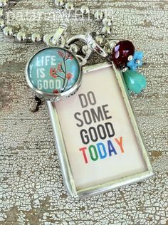it's all good! Its All Good, Life Is Good, Show And Tell, Christmas Ornaments, My Style, Holiday Decor, Create, Inspirational, Thoughts