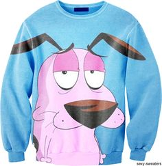 courage the cowardly dog! I want one!