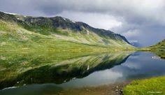 Lake Slettevatnet in Norway