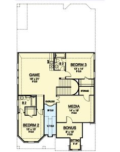 plan 15051nc cottage with flexible bedrooms traditional house
