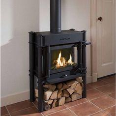 gaskachel - Product in beeld - - Startpagina voor sfeerverwarmnings ideeën Wood Burner, Gas Stove, Schmidt, Home Appliances, Interior Design, Kitchen, Janus, Stoves, Garden