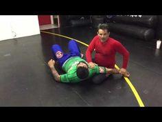 Jiu Jitsu Techniques - side control attack