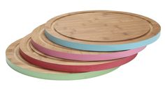 bamboo round chopping board - Google Search Garden Pots, Bamboo, Tray, Plates, Google Search, Board, Licence Plates, Garden Planters, Dishes