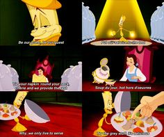 Day 10 of 30 day Disney challenge - fave overall song - Be Our Guest from Beauty and the Beast