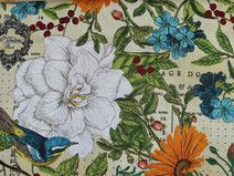 Quality fabric store seated in the heart of the Europe. Floral Fabric, Cotton Fabric, Summer Essentials, Decorating Your Home, Fabrics, Unique Jewelry, Handmade Gifts, Painting, Vintage