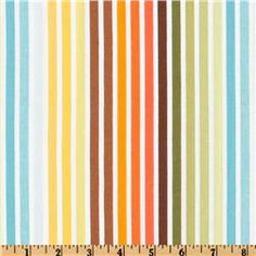 Remix Stripes Turquoise/Orange/Green  Item Number: DN-508  Our Price: $8.98 per Yard