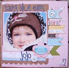 Bella Blvd's Winter Wonder / Baby Blue Eyes by Allyson Meinholz - Scrapbook.com