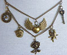 Charmed with Steampunk via Hippychick Creations. Click on the image to see more!
