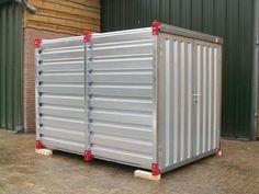 Foto 3 bij container/opslagcontainer/materiaalcontainer/unit/tuinhuisje/tuinhuis/bouwkeet