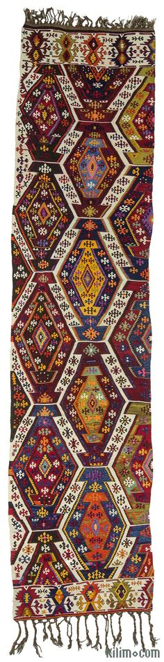 Finely-woven antique Adana kilim rug hand-woven in 1920's. It is in great condition. Adana is located in eastern Mediterranean region of Turkey.