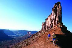 Moab Utah is a Trail Runners Paradise