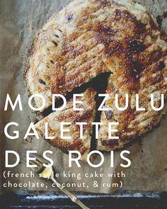 Mode Zulu Galette De Rois: Chocolate Coconut King Cake