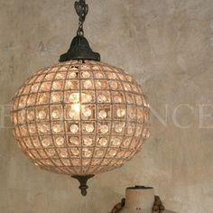 ELOQUENCE Globe Crystal Beaded Chandelier - Small / Medium / Large - found on www.sophiakhome.com