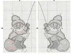 Gallery.ru / Фото #3 - 28 - katjusha79 Counted Cross Stitch Patterns, Cross Stitch Charts, Santa Claus Elves, Cross Stitch Numbers, Elves And Fairies, Xmas Ornaments, Christmas Cross, Cross Stitching, Needlework