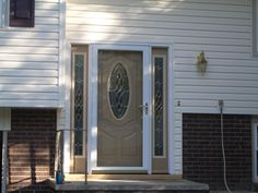 Replacement windows and doors can make all the difference in the world to the overall look and feel of your home. Gorgeous custom doors make a home unique. Windows And Doors, Garage Doors, Deck, World, Unique, Outdoor Decor, Home Decor, Decoration Home, Room Decor