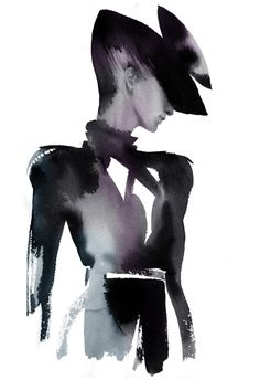 illustrations for Swarovski // watercolor by Cecilia Carlstedt
