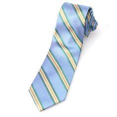 UNEXPECTED - corbata #moda #elegante #juvenil #azul #rayas