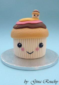 Kawaii Cupcake Cake