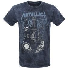 Metallica Hammett Ouija Guitar T Shirt Imprim/é Officiel Musique Noir Small