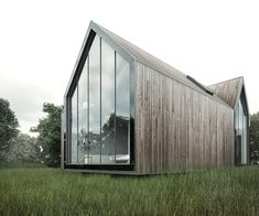Architizer - Explore, Collect and Source architecture Wood Cladding Exterior, Wood Facade, Architecture Plan, Architecture Details, Airbnb House, Farm Shed, Modern Barn House, Roof Extension, Long House