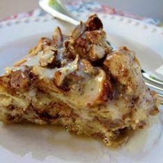 Cinnamon Roll French Toast Bake Recipe - ZipList