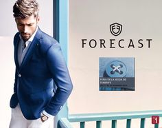A partir de mañana te esperamos en el stand 68 Bis de la Feria de la Moda de Tenerife con #Forescast tu marca de moda masculina