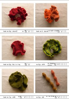 Hyperbolic crochet patterns
