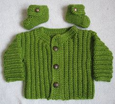 Baby Boy Sweater Baby Sweater Set Handmade by TillieLuvsTreasures