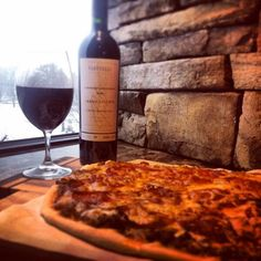 Piattelli Grand Reserve Cabernet & Sizzling Meat-Lovers' Pizza | #Argentina #cabernet and #pizza warms the soul. #fortheloveofpizza | @piattelliUSA