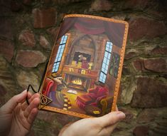 Gryffindor Room Art Harry Potter Gift Journal Travelers Notebook Hand Painted Leather Size - Sanati Factory Buy Now With Discount! Leather Books, Leather Notebook, Leather Journal, Custom Journals, Handmade Journals, Personalized Journals, Toddler Gifts, Toddler Toys, Baby Toys
