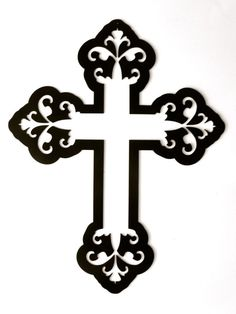 Cross-Heavy Decorative Metal Wall Art by rillabee. Explore more products on http://rillabee.etsy.com