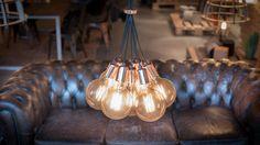 No.3 bundel COPPER Cluster Lights, Instagram Feed, Light Bulb, Chandelier, Ceiling Lights, Lighting, Home Decor, Candelabra, Decoration Home